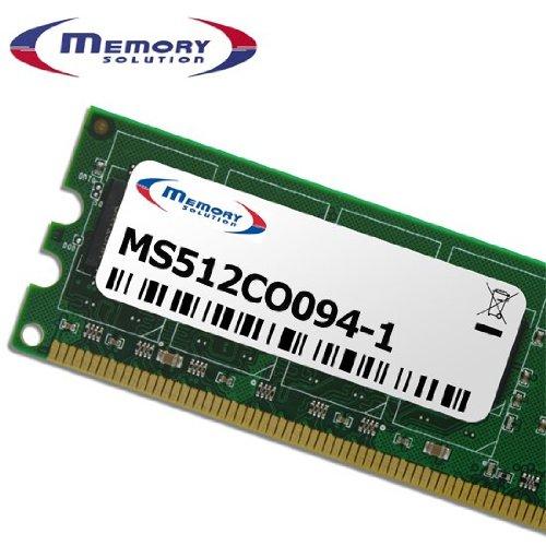 Memory Solution ms512co094-10.5GB Memory Module-Memory Modul (Ersatzteil, Gold, Green, HP Compaq Evo N410C N600C) - Compaq-1 Gb Modul