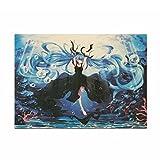 Coaste Antilane Hatsune Miku Poster / Wanddekoration / Wandaufkleber / Wandtattoo / Wandbilder, Bestes Geschenk für Kinder Jugendliche Männer und Anime-Fans