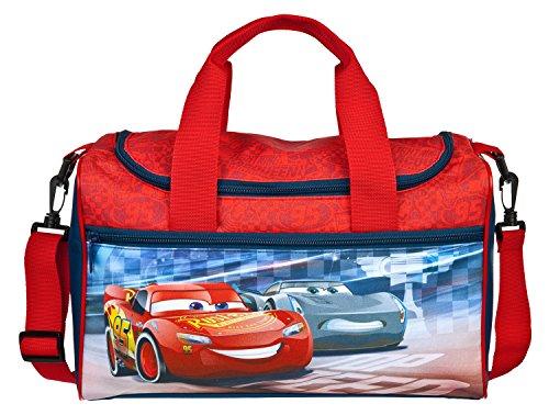 Scooli Sporttasche, Disney Pixar Cars, Turnbeutel, 35 cm, 8 L, Blau