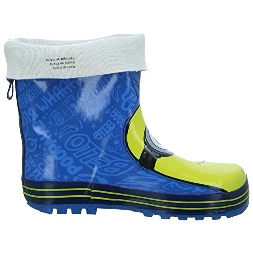 Minions DE002320-311 Unisex Kinder Regenstiefel Blau (Blau)