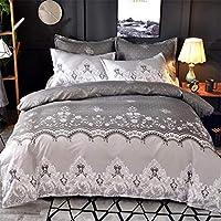 Kotila Lace Solid Color Duvet Cover Set Bedding Set Full Smooth Soft Duvet Comforter Cover Set Lightweight Cool Summer Bedding Collection