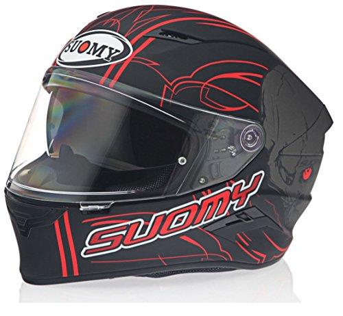 3731b5c9 Suomy KSVR0008.5 Helmet Speedstar AMLET Matt Red-L