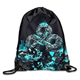 GONIESA Cloud 9 Team Art Drawstring Backpack Sack Bag