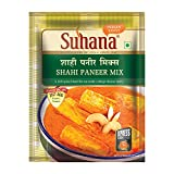 Shahi' implies the royal. Suhana Shahi Paneer Mix is a blend of flavoured spices with imparts a distinctive aroma and taste to this cashew and tomato based cottage cheese gravy dish. A ''Mughlai favourite'' with our Suhana Shahi Paneer Mix.  ...