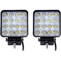 Leetop 2 Faros Traseros LED Para Tractores, 48 W, 3800 lm, 6000 K, 67IP