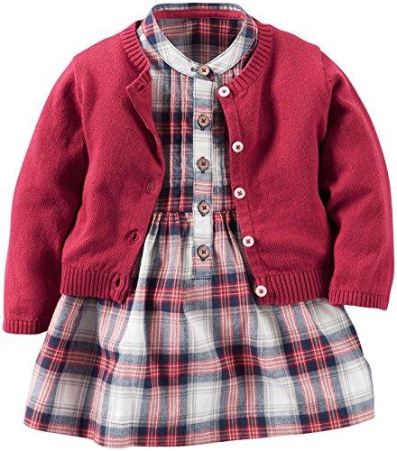 Carter's Baby Girls' Dress Sets 121g890 - Carters Baby Girls Kleid