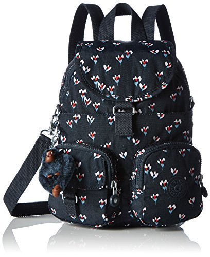 Kipling Firefly N, Women's Backpack, Mehrfarbig (Small Flower), One Size