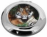Bengal Tiger In Ampelschirm Make-up Rund Taschenspiegel Weihnachten Geschenk