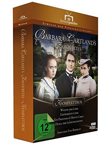 Barbara Cartland's Favourites Komplettbox (Wagnis der Liebe / Gefährdete Liebe / Ein Phantom in Monte Carlo / Duell der Leidenschaften) [4 DVDs] (Klassische Filme Dvd Box)