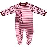 Fixoni Schlafanzug gestreift rosa/pink Größe 56