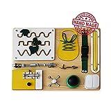 Montessori Busyboard Sinneswand 'Kleiner Helfer' 30 x 40 cm