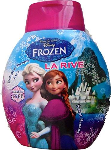 Disney Frozen badegel da bagno doccia Shampoo 2in1* 250ml-Anna & Elsa * FROZEN