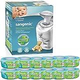 Sangenic MK4 - Mangia pannolini Hygiene Plus+, 12 ricariche incluse