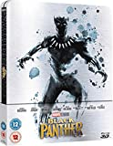 Black Panther Steelbook 3D+2D Uk Exclusive Limited Edition Steelbook Blu-ray Region Free Sold out!!