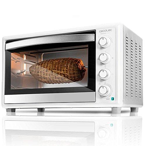 Cecotec Horno Conveccion Sobremesa Bake&Toast 790. Capacidad de 46 litros, 2000 W, 12 Modos, Temperatura...