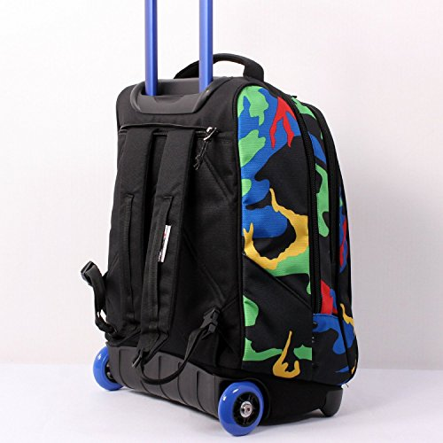 71241accf2 TROLLEY INVICTA – TINDY- Camouflage Blu Verde Rosso Giallo – 36 LT ...