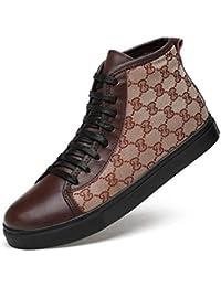 Desconocido Calzado Casual de Hombre, Botas de Invierno con Cordones Martins, Calzado de Cubierta Casual, Botines…