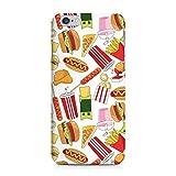 COVER Comic Fast food Essen weiss Design Handy Hülle Case 3D-Druck Top-Qualität kratzfest Apple iPhone 6 6S