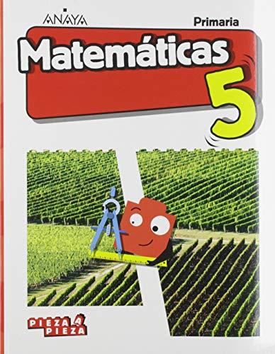 Matemáticas 5. (Incluye Taller de Resolución de problemas) (Pieza a Pieza)