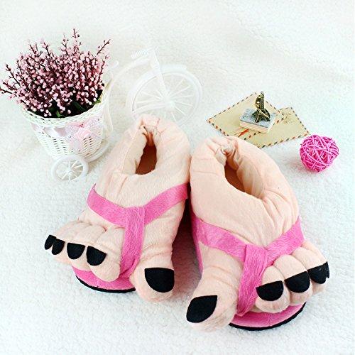 mhgao Cartoon Creative Toes Cotone Pantofole da donna casual sandali, 2, M 1