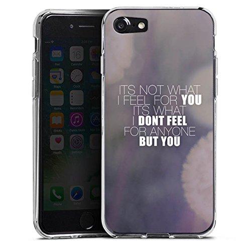 Apple iPhone X Silikon Hülle Case Schutzhülle Sprüche Love Pusteblume Liebe Silikon Case transparent