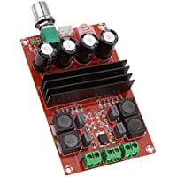MagiDeal 2x100w Tpa3116d2 Placa De Amplificador De Audio Digital De Doble Pista 12-24v Para Arduino