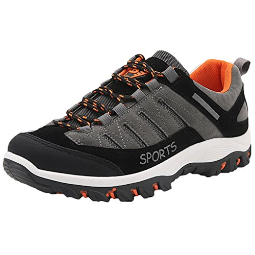 KEERADS Mens Trainers Gym Walking Trainers Fitness Sports Running Sneakers Shoes (UK:7,...