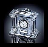 Articolo Simile verkaufen? stesso vendita 4–Pilastri–Orologio, Orologio a pendolo, orologio da tavolo, Pilastri Orologio, tempo coltello in cristallo al piombo