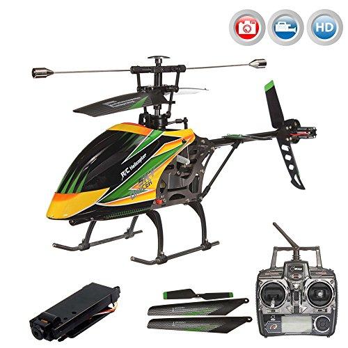 *4.5 Kanal 2.4GHz RC ferngesteuerter XL Outdoor Hubschrauber mit HD-Kamera, Crash-Kit RTF*