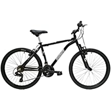 """Discovery DP073 - Bicicleta Montaña Mountainbike 26"""" B.T.T. Cuadro de Aluminio. Cambio Shimano TX30, 18 Velocidades, con amortiguación - para hombre"""