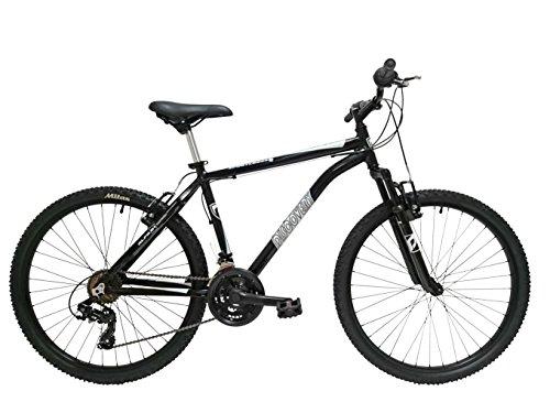 Discovery DP073 – Bicicleta Montaña Mountainbike 26″ B.T.T. Cuadro de Aluminio. Cambio Shimano TX30, 18 Velocidades, con amortiguación – para hombre
