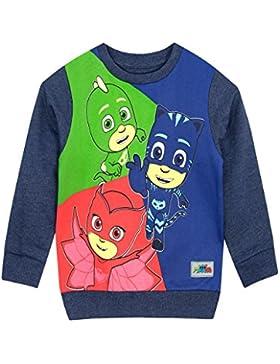 PJ Masks - Suéter para Niños - Catboy Owlette Gekko