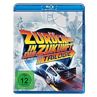 Zurück in die Zukunft - Trilogie (30th Anniversary Edition, 4 Discs) [Blu-ray]