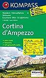 Carta escursionistica n. 55. Cortina d'Ampezzo. Adatto a GPS. Digital map. DVD-ROM