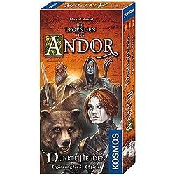 KOSMOS 692841 - Die Legenden von Andor - Dunkle Helden, Strategiespiel Die Legenden von Andor