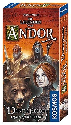 Kosmos 692841 - Die Legenden von Andor - Dunkle Helden, Strategiespiel