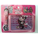Monster High Children's Watch Wallet Set For Kids Children Boys Girls Great Christmas Gift Gifts Present - Sold by Happy Bargains Ltd