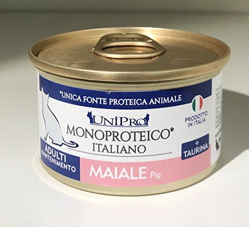 Unipro Gatti 85gr MAIALE monoproteico