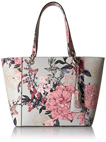 GUESS Kamryn Tote Grey Floral