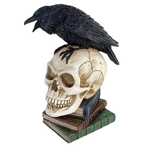 Alchemy Gothic Poes Raven Figurine