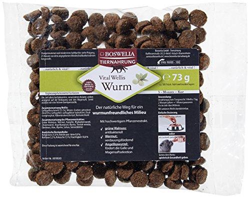 Boswelia Vital Wellis Katze Wurm 73 g / circa 180 Stück im Beutel, 1er Pack Test