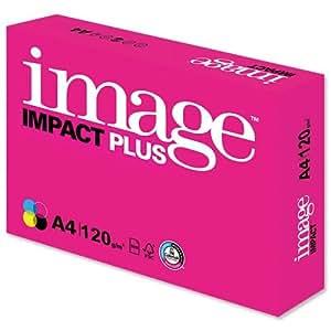 NEW. Image Impact Premium Plus Papier FSC 120g/m² Blanc Format A4250feuilles 62722[]