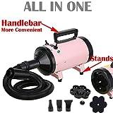AutoFu 500W-2800W Pink Blaster Hairdryer Stand Car/Dog / Cat Pet Grooming Hair Dryer