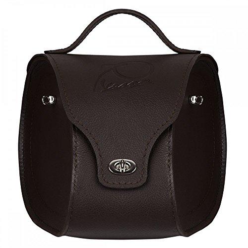 Preisvergleich Produktbild Vespa Tunneltasche für Primavera 70 Jahre in schwarz