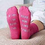 Personalised Please Bring Prosecco Socks