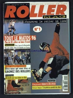 ROLLER MAG [No 1] du 01/01/1996 par COLLECTIF