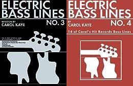 Electric Bass Lines No.3&4 (English Edition) von [Kaye, Carol]
