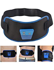 inkint Soins de Santé Minceur Corps Massage Ceinture AB Gymnic Electronic Muscle Bracelet Courroie Ceinture de Massage Avec 2 Longueurs Différentes de Ceinture