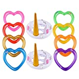 Best Game Pools - YOUTHUNION Inflatable Unicorn Ring Toss Game -Pool Tools Review