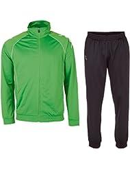 Kappa Trainingsanzug Ephraim Tracksuit - Chándal de fútbol para hombre, color verde, talla M